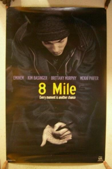 Eminem Poster 8 Mile Writing ON - 42.6KB