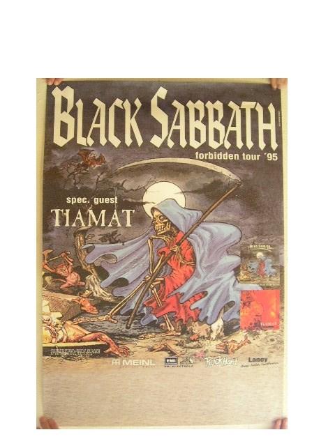 Black Sabbath German Concert Tour Poster Tony Iommi